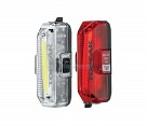 Комплект фонарей TOPEAK Aero USB 1W Combo White&Red, super bright COD LED, с зарядкой