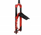 "Амортизационная вилка Manitou Mattoc PRO 27.5"" Boost 160mm Tapered 15mm Axle Matte Red"